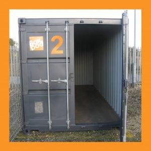 Orange Open Container