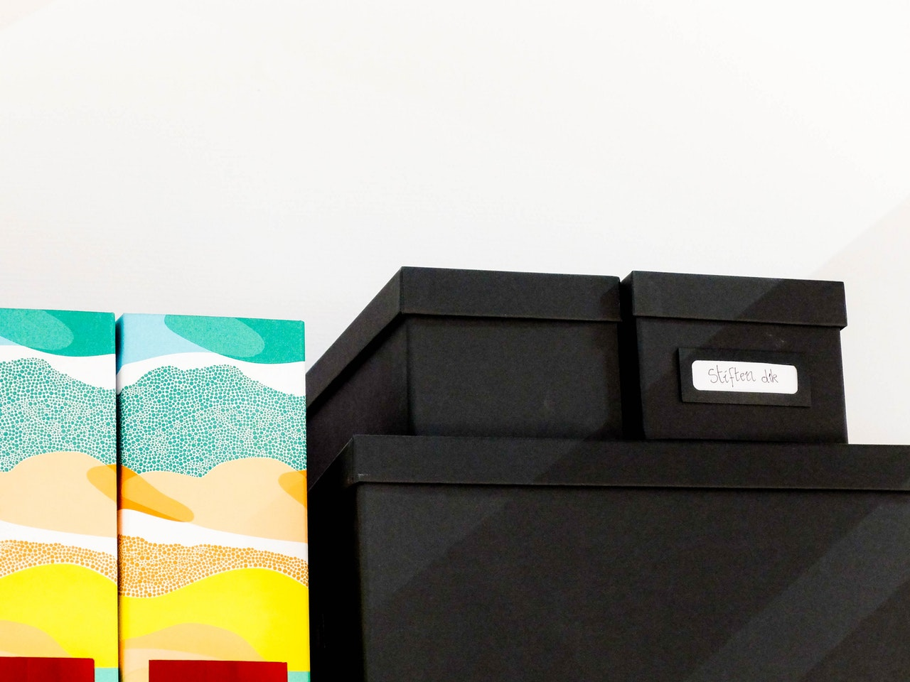 office storage boxes
