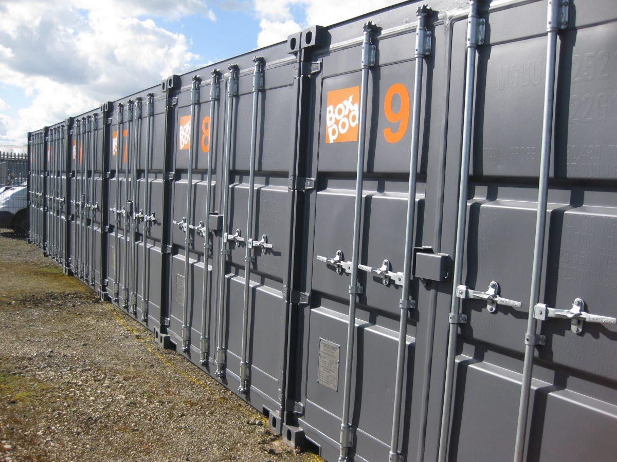 BoxPod Self Storage Container Units