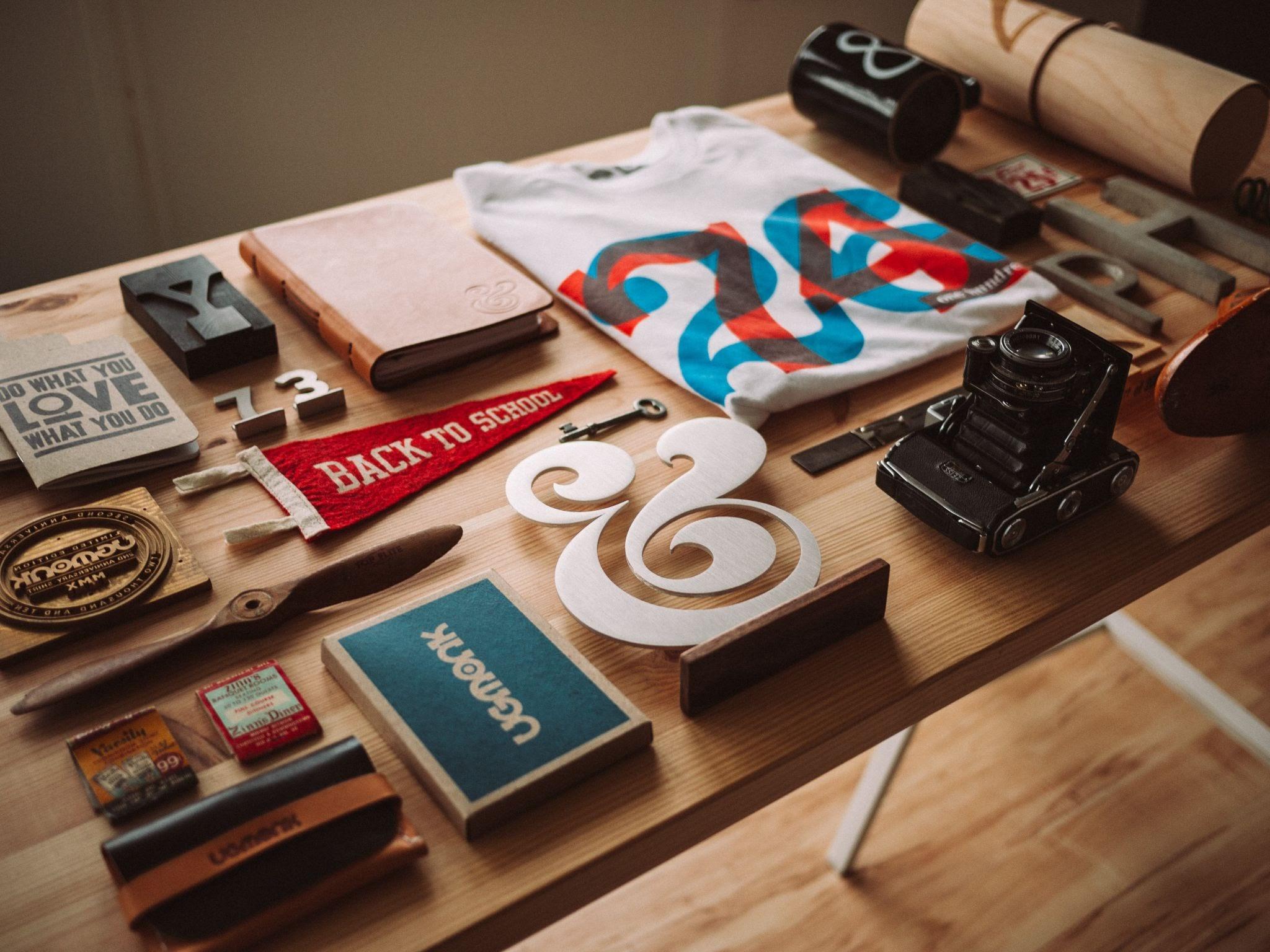 Organising items
